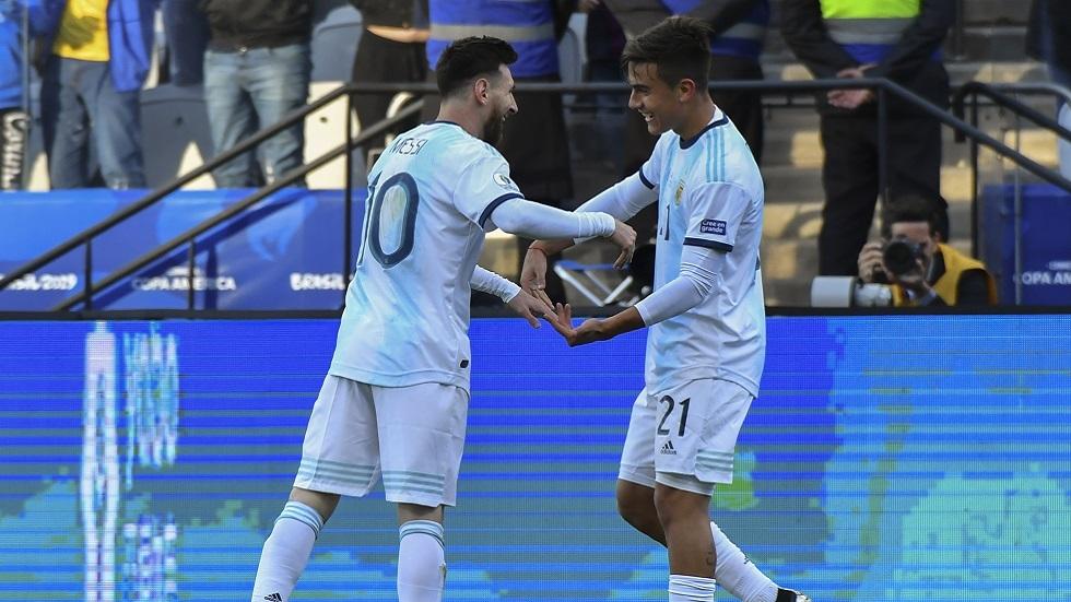 ميسي ينضم إلى دوري ديبالا لدعم الأرجنتين