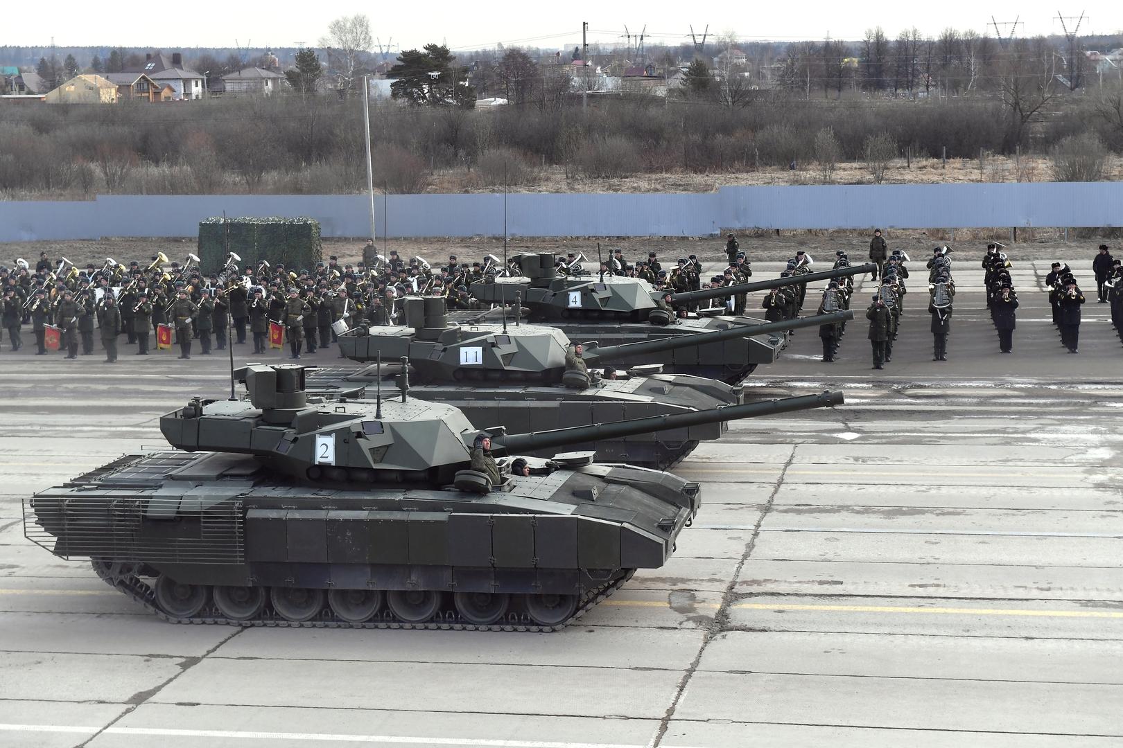 دباباتنا روسيتان من طراز