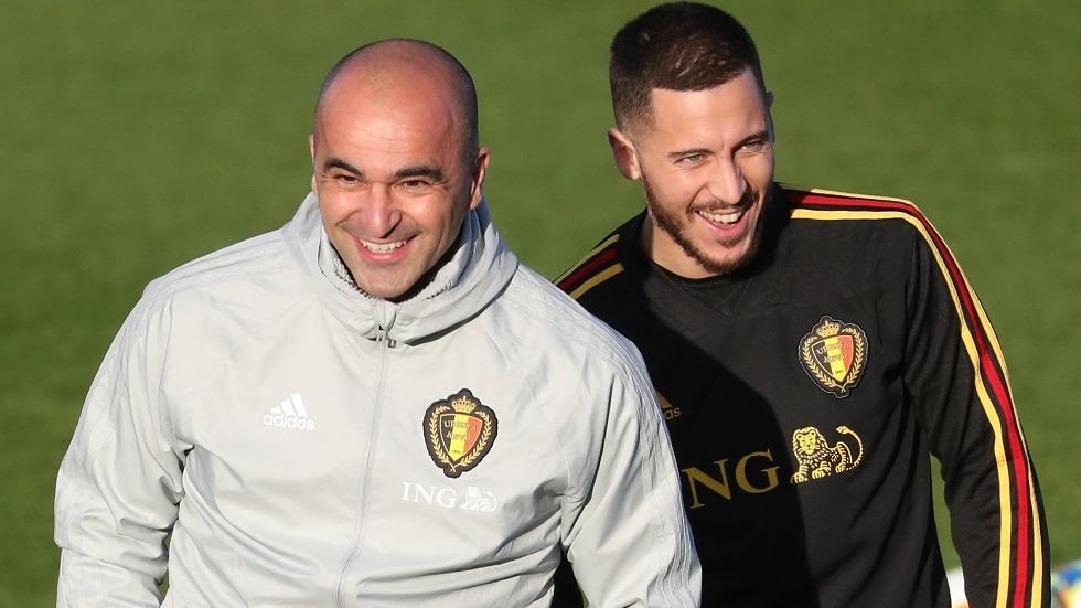 مدرب بلجيكا: هازارد محظوظ بسبب كورونا