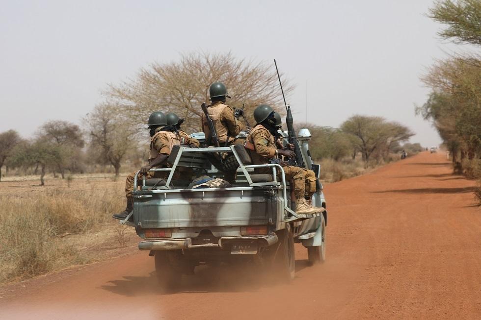 قوات الأمن في بوركينا فاسو