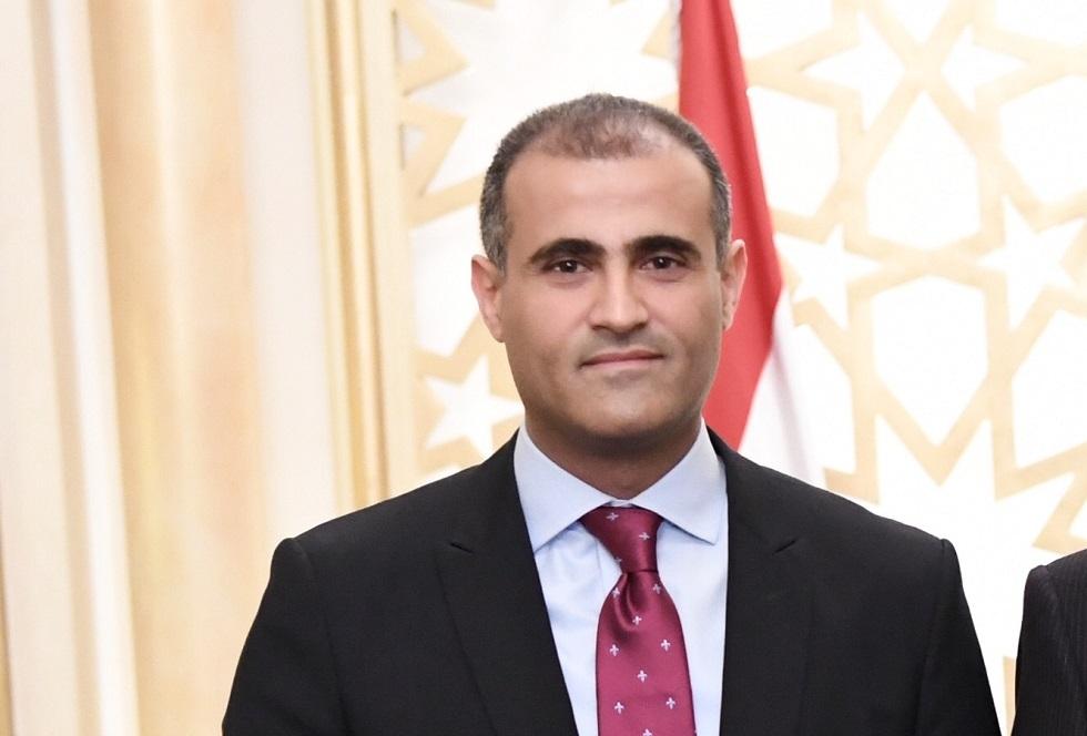وزير الخارجية في الحكومة اليمنية المعترف بها دوليا، محمد الحضرمي