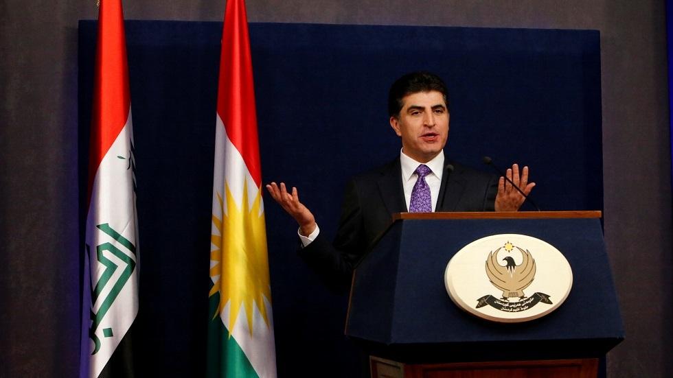 رئيس إقليم كردستان العراق نيجرفان بارزاني