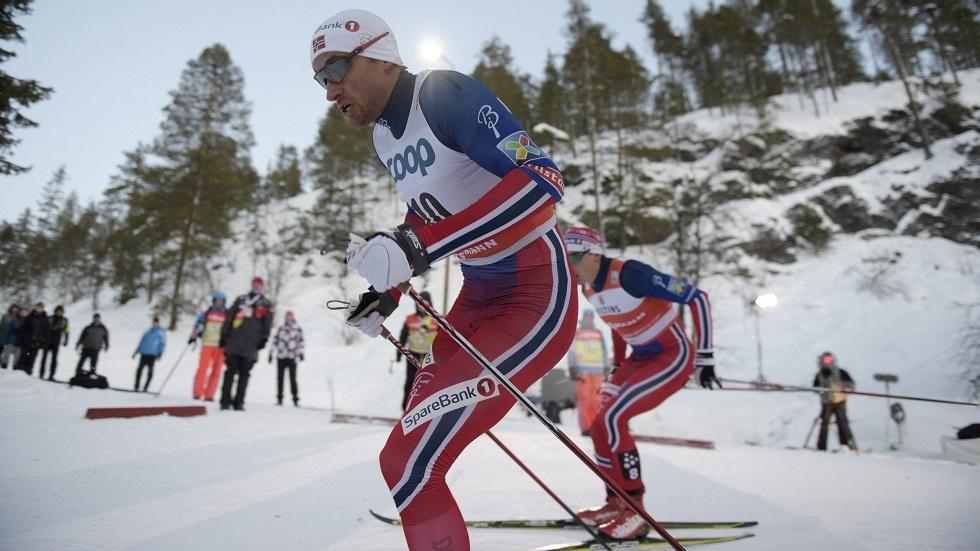 بطل نرويجي: للمتزلجين الروس أفضلية بسبب جائحة فيروس كورونا