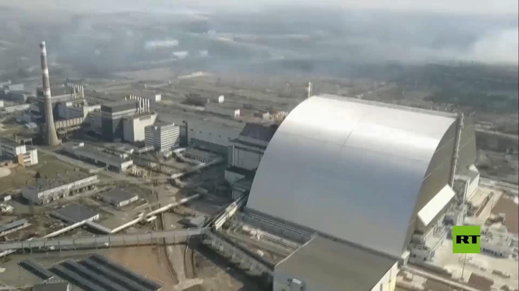 كيف تبدو محطة تشيرنوبيل النووية بعد34 عاما على الكارثة