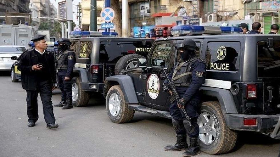 أفراد الشرطة المصرية - أرشيف