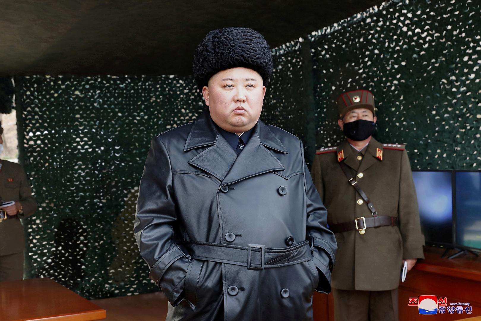 زعيم كوريا الشمالية، كيم جونغ أون.