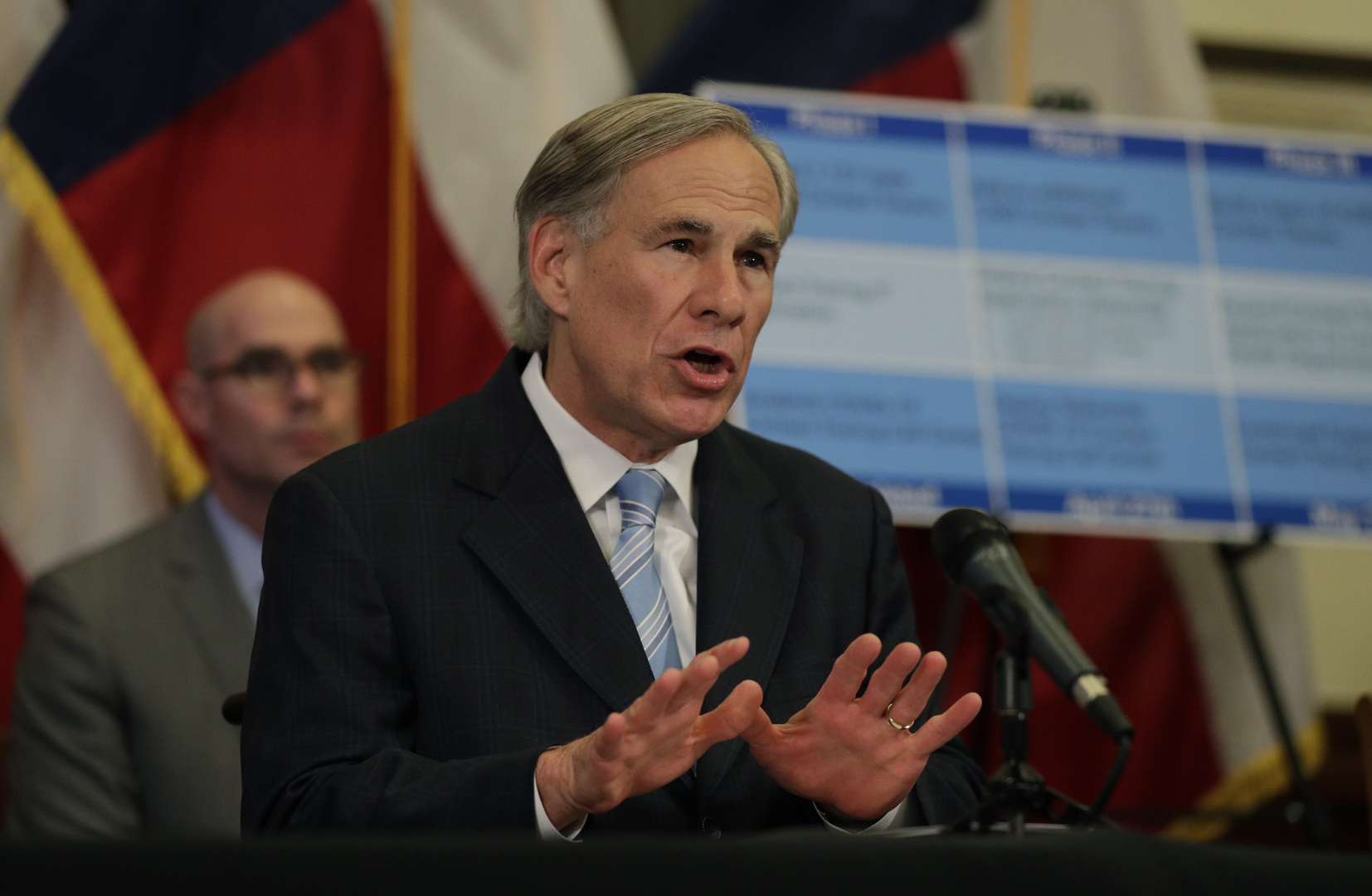 حاكم ولاية تكساس الأمريكية غريغ أبوت