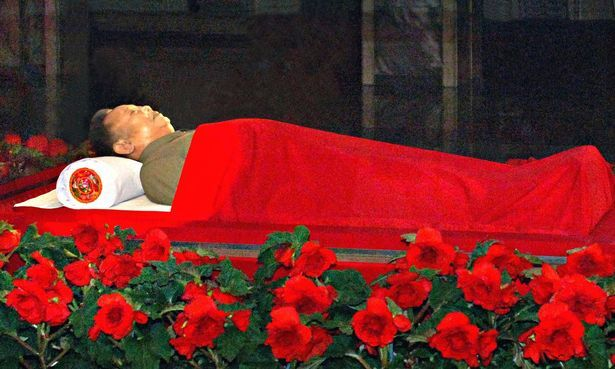 صورة جثمان كيم جون أون .. ما قصتها؟