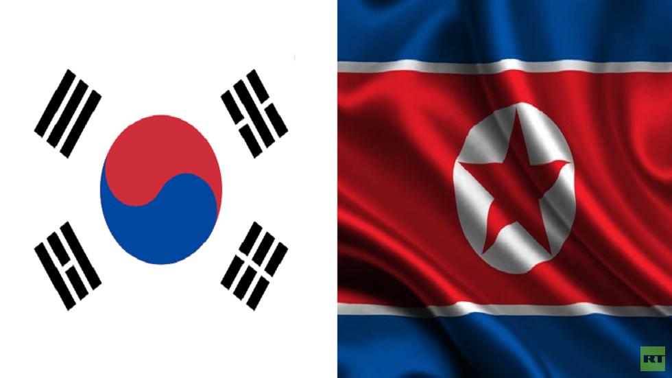 العلمان الكوري الجنوبي والشمالي