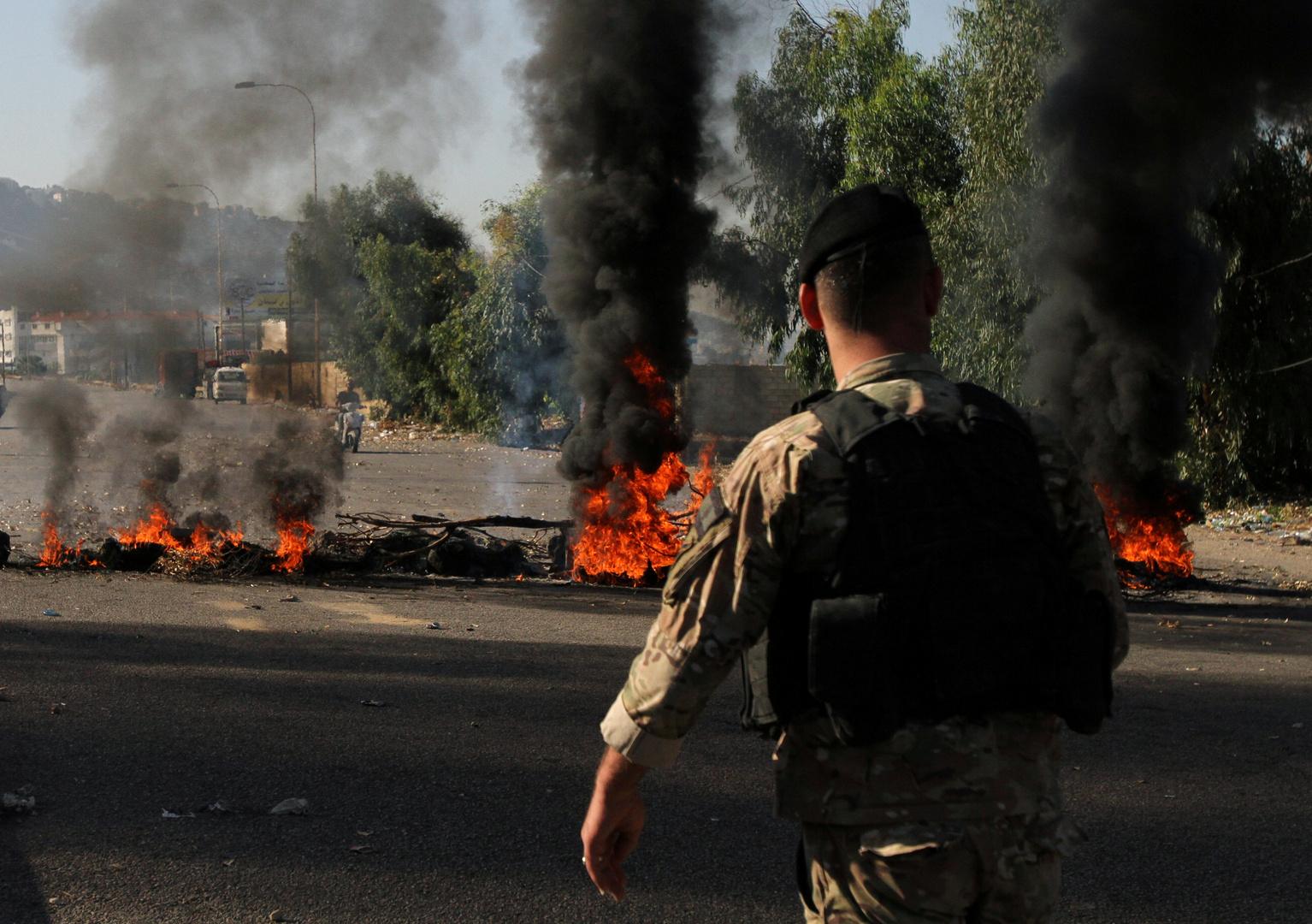 احتجاجات لبنان، صورة أرشيفية