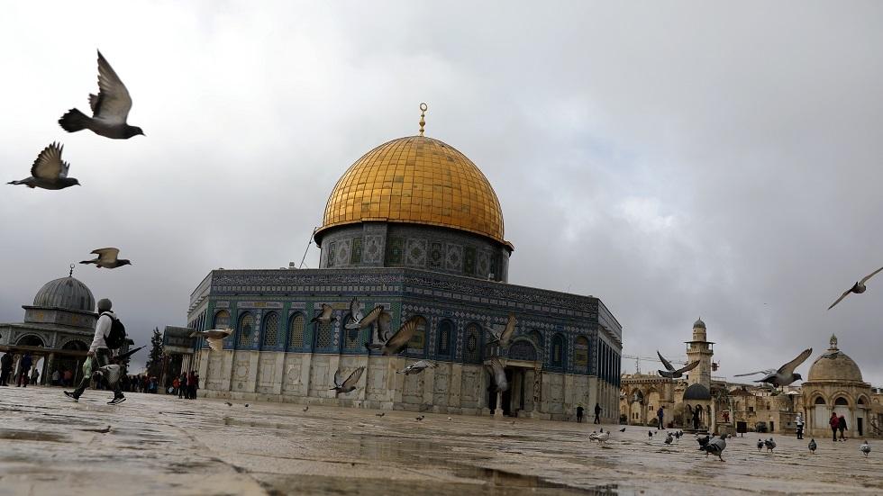 مسجد قبة الصخرة في الأقصى بالقدس - أرشيف