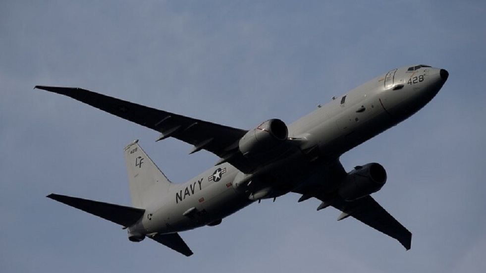 اقتراب طائرة استطلاع أمريكية لمسافة 25 كم من المواقع الروسية في سوريا