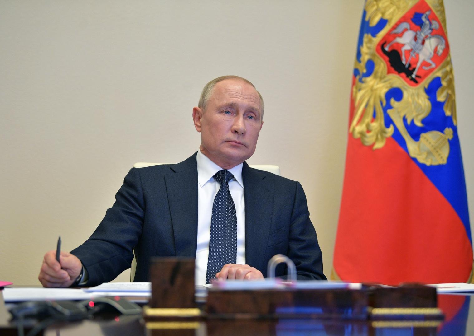 بوتين يبحث مع مجلس الأمن القومي الروسي محاربة كورونا والوضع في ليبيا