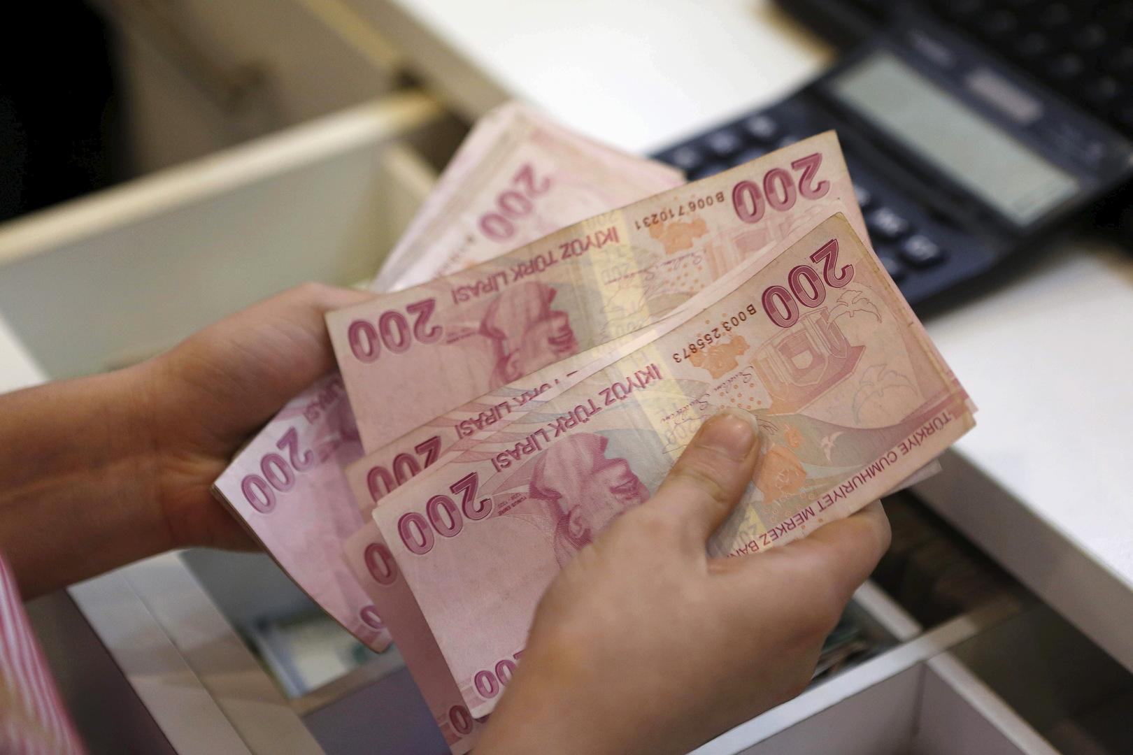 توقعات المركزي التركي لمعدلات التضخم في البلاد
