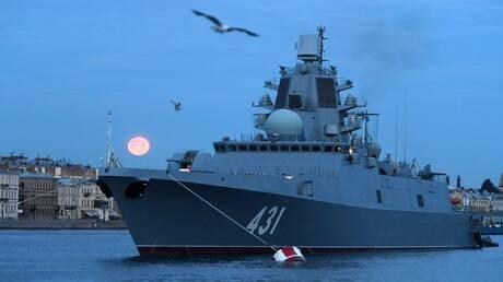 روسيا تنتهي من اختبار سفينة حربية متطورة