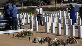 الولايات المتحدة تسجل حصيلة وفيات قياسية جراء كورونا في يوم واحد