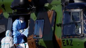 إصابة 600 عسكري فرنسي  بكورونا