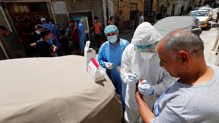 العراق يسجل 10 وفيات بكورونا خلال 24 ساعة