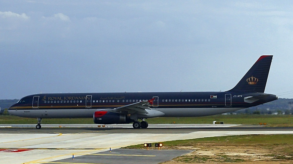 طائرة تابعة للخطوط الملكية الأردنية - أرشيف
