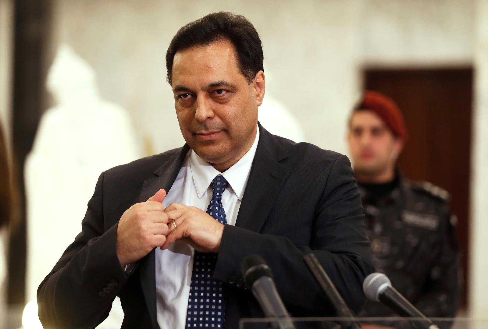 حسان دياب رئيس حكومة لبنان