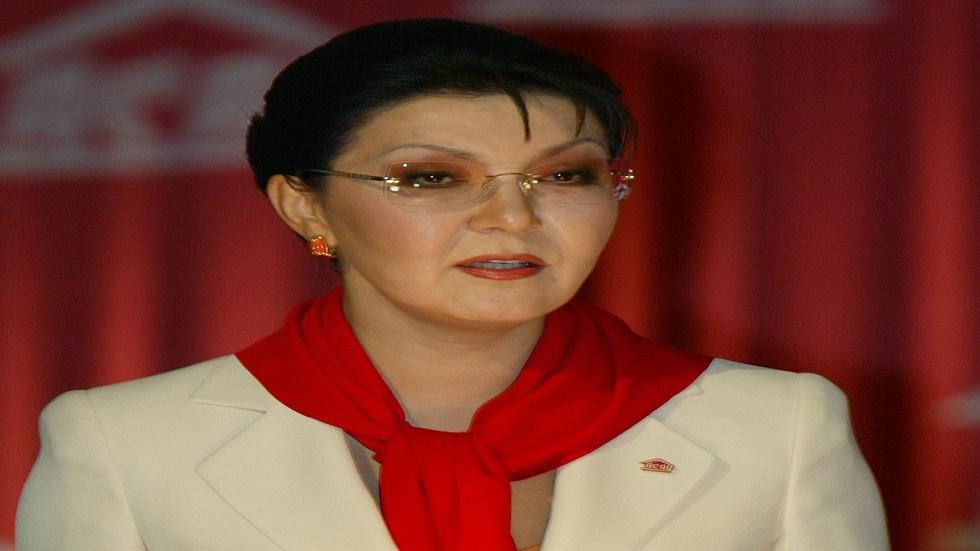 رئيس كازاخستان يقيل رئيسة مجلس الشيوخ داريجا نور سلطان نزاربايف