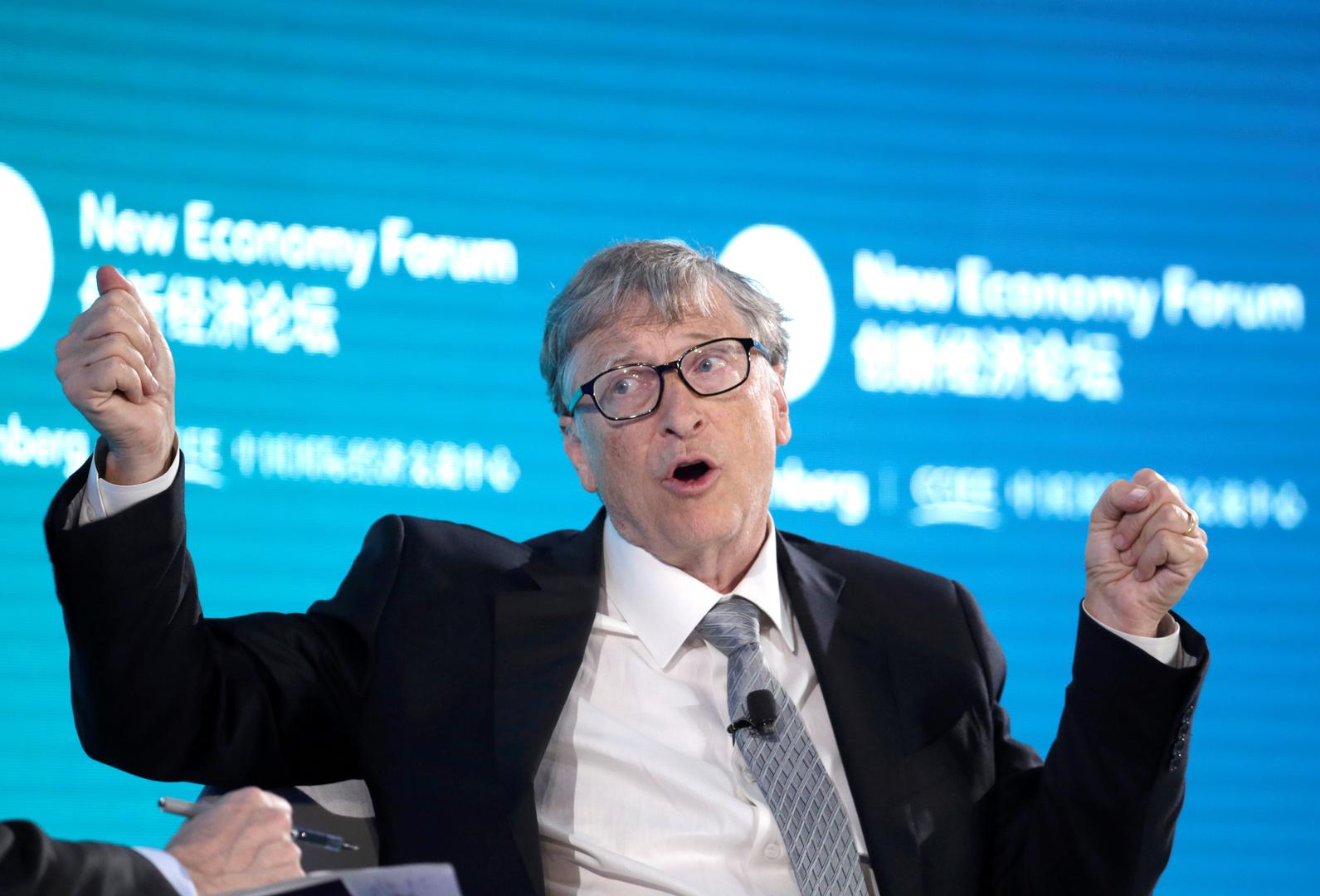 بيل غيتس، مؤسس شركة مايكروسوفت