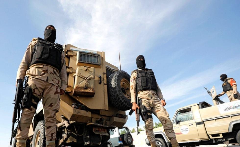 السلطات المصرية: مقتل 18 إرهابيا في تبادل لإطلاق النار في بئر العبد