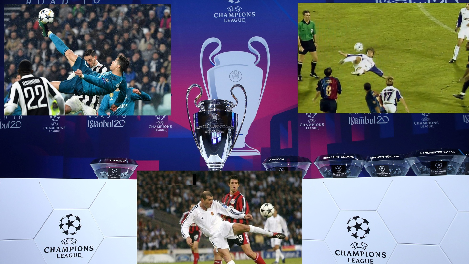 مجلة فرانس فوتبول: أفضل هدف في تاريخ دوري الأبطال (فيديو)
