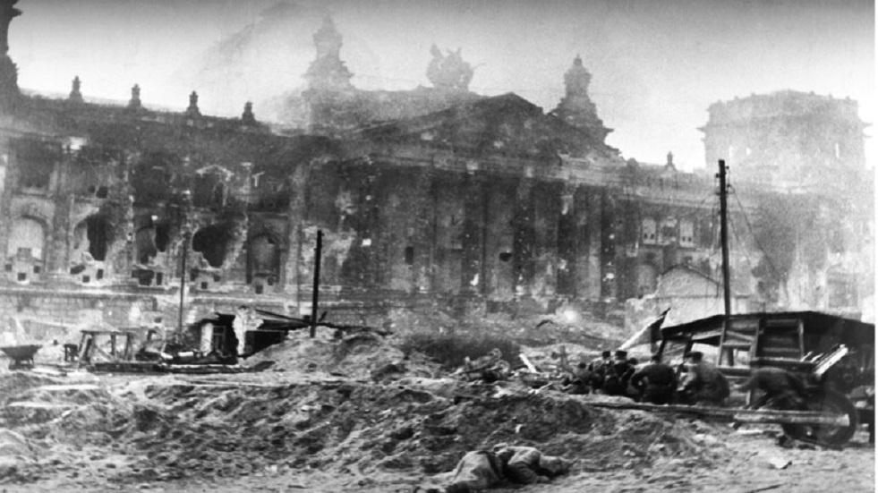 الحرب الوطنية العظمى - القتال من أجل الرايخستاغ