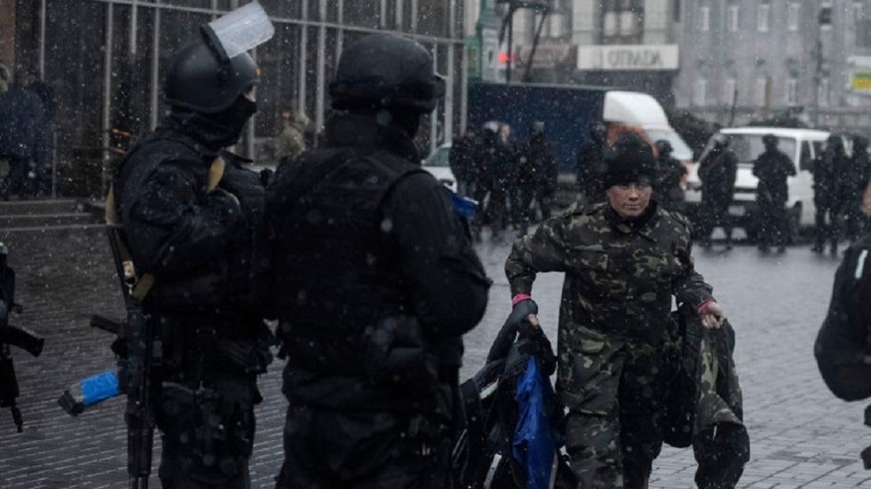 رجال الأمن الأوكراني - أرشيف