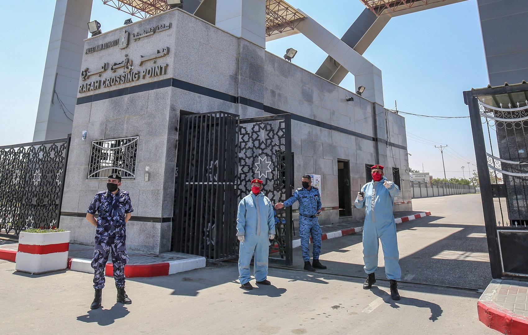 معبر رفح البري بين مصر وقطاع غزة