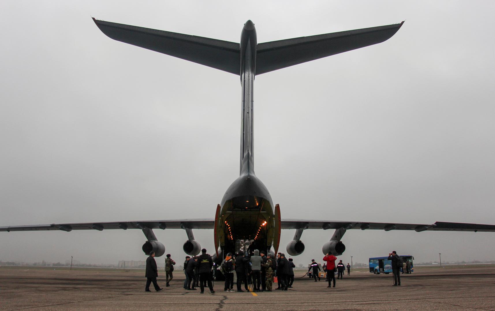 طائرة مساعدات، صورة تعبيرية