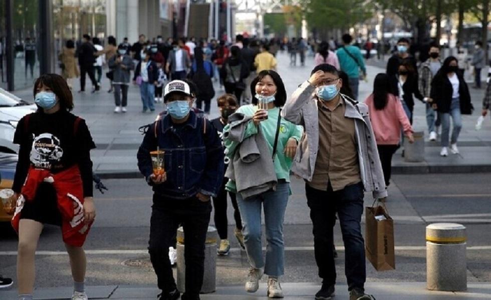 الصين تسجل إصابة واحدة جديدة بفيروس كورونا و15 حالة دون أعراض