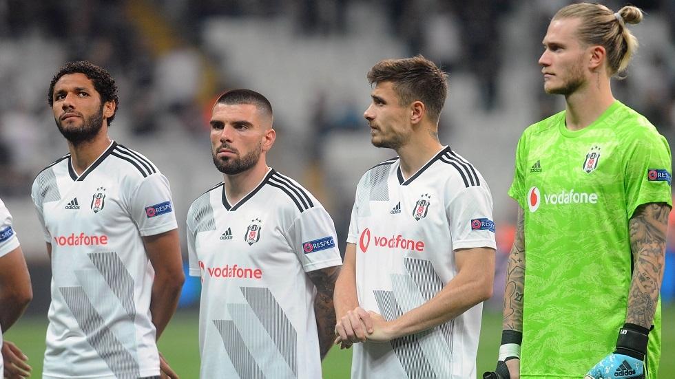 بشكتاش التركي يعلن إصابة أحد لاعبيه بفيروس كورونا