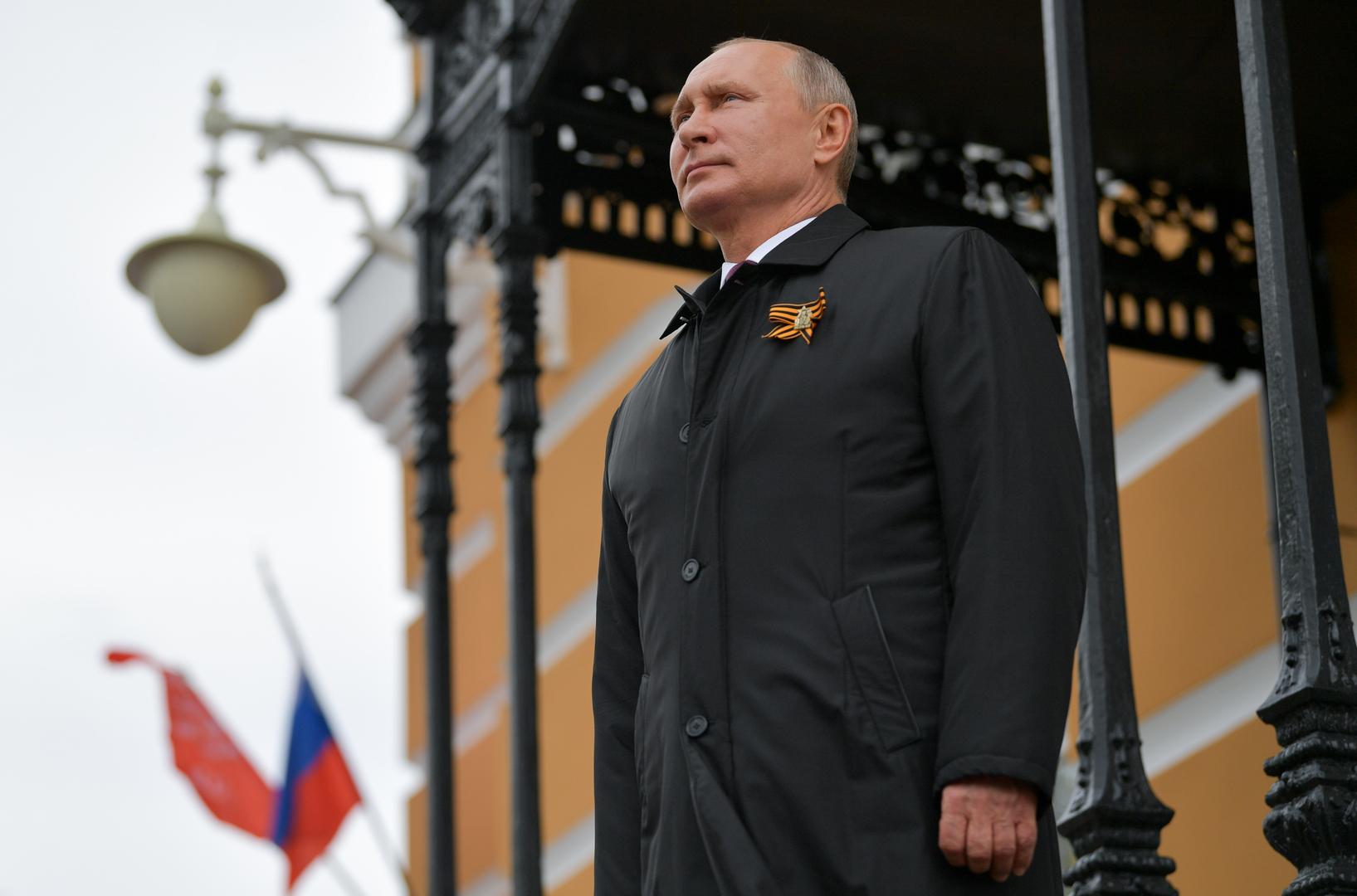 بوتين للمشاركين في