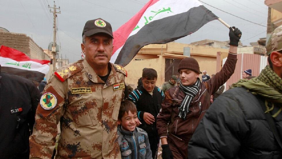 الفريق الركن عبد الوهاب الساعدي في الموصل - أرشيف