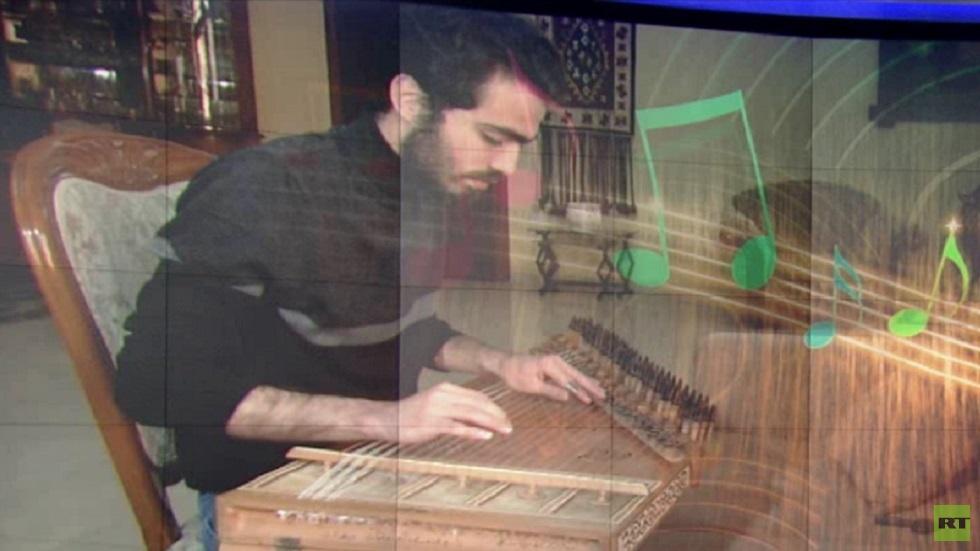 التعليم عن بعد يخدم الموسيقى في غزة