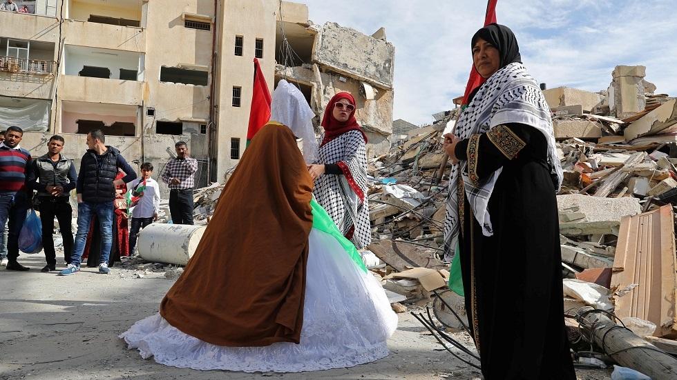 عرس في غزة - أرشيف