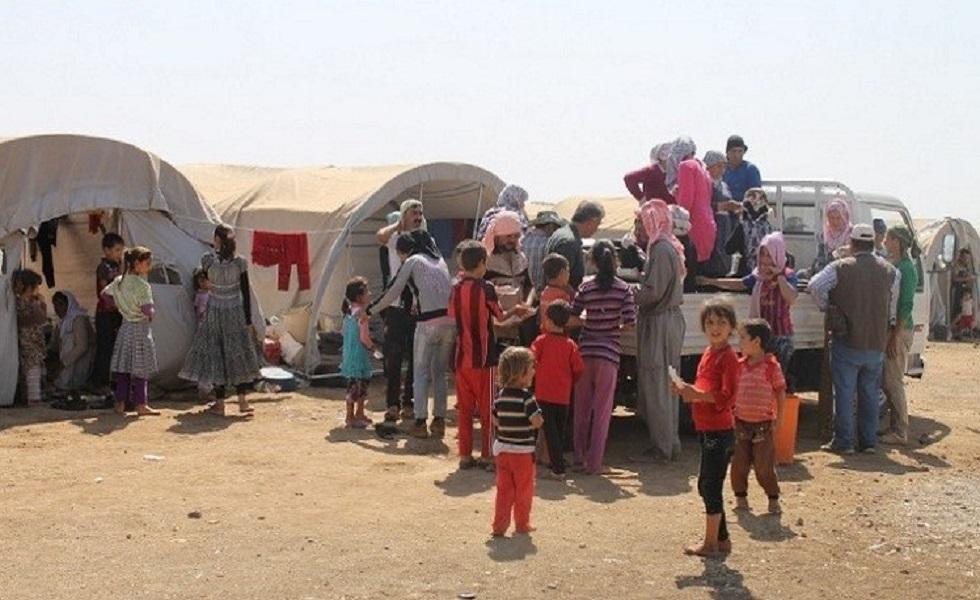 لاجئون إيزيديون في الحسكة - أرشيف