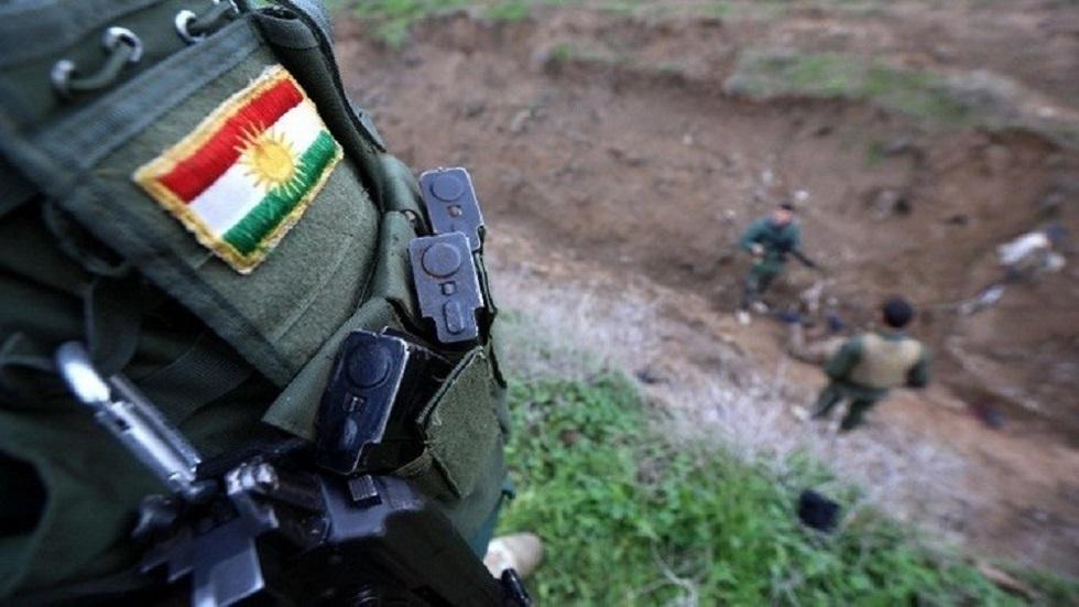 عناصر من البيشمركة الكردية شمالي العراق - أرشيف