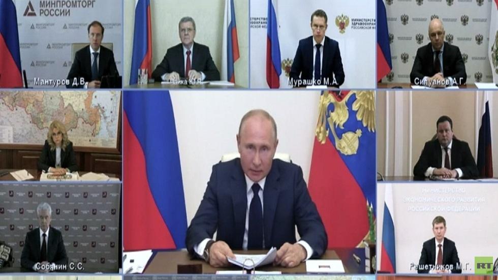 بوتين يعلن انتهاء العطلة العامة في روسيا