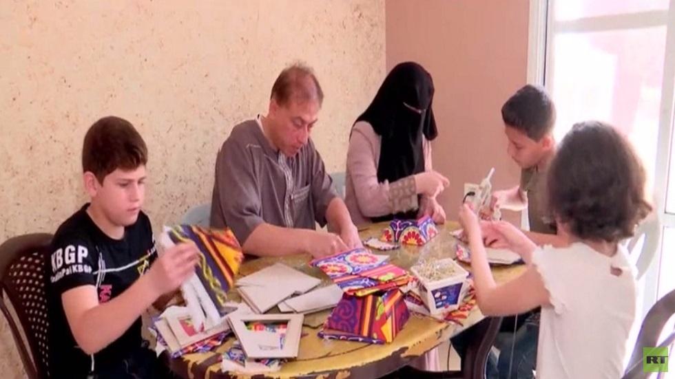 عائلة اليعقوبي.. صانعة الفوانيس في غزة