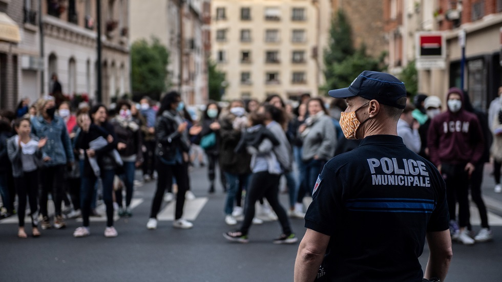 الشرطة الفرنسية باريس - أرشيف