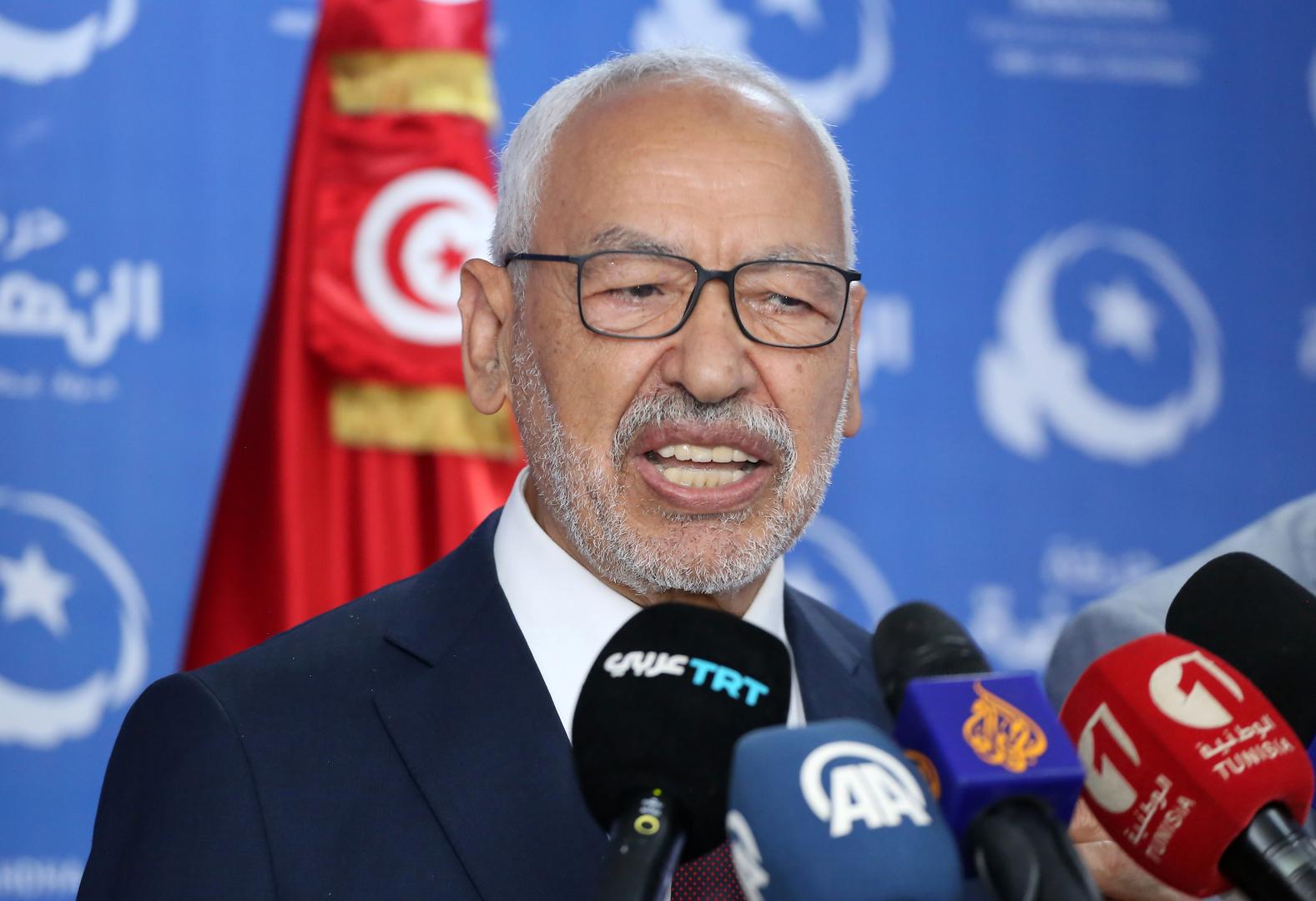 زعيم حركة النهضة التونسية، راشد الغنوشي