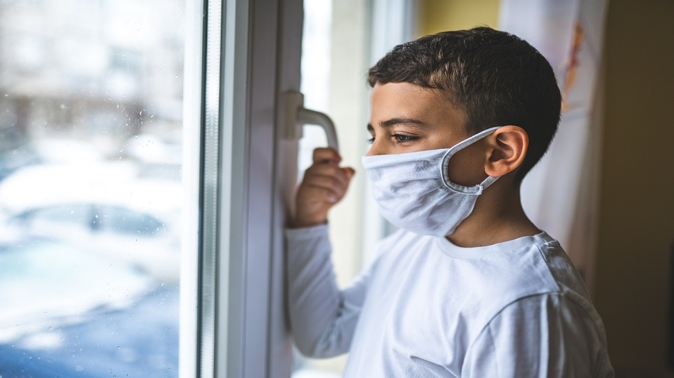 أشعة مقطعية تكشف كيف تبدو رئتا الطفل المصاب بفيروس كورونا