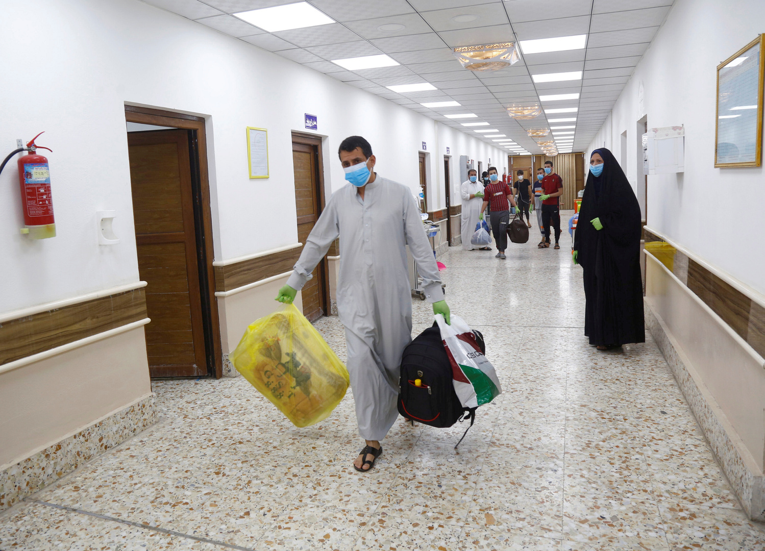 العراق يسجل ارتفاعا جديدا في إصابات كورونا