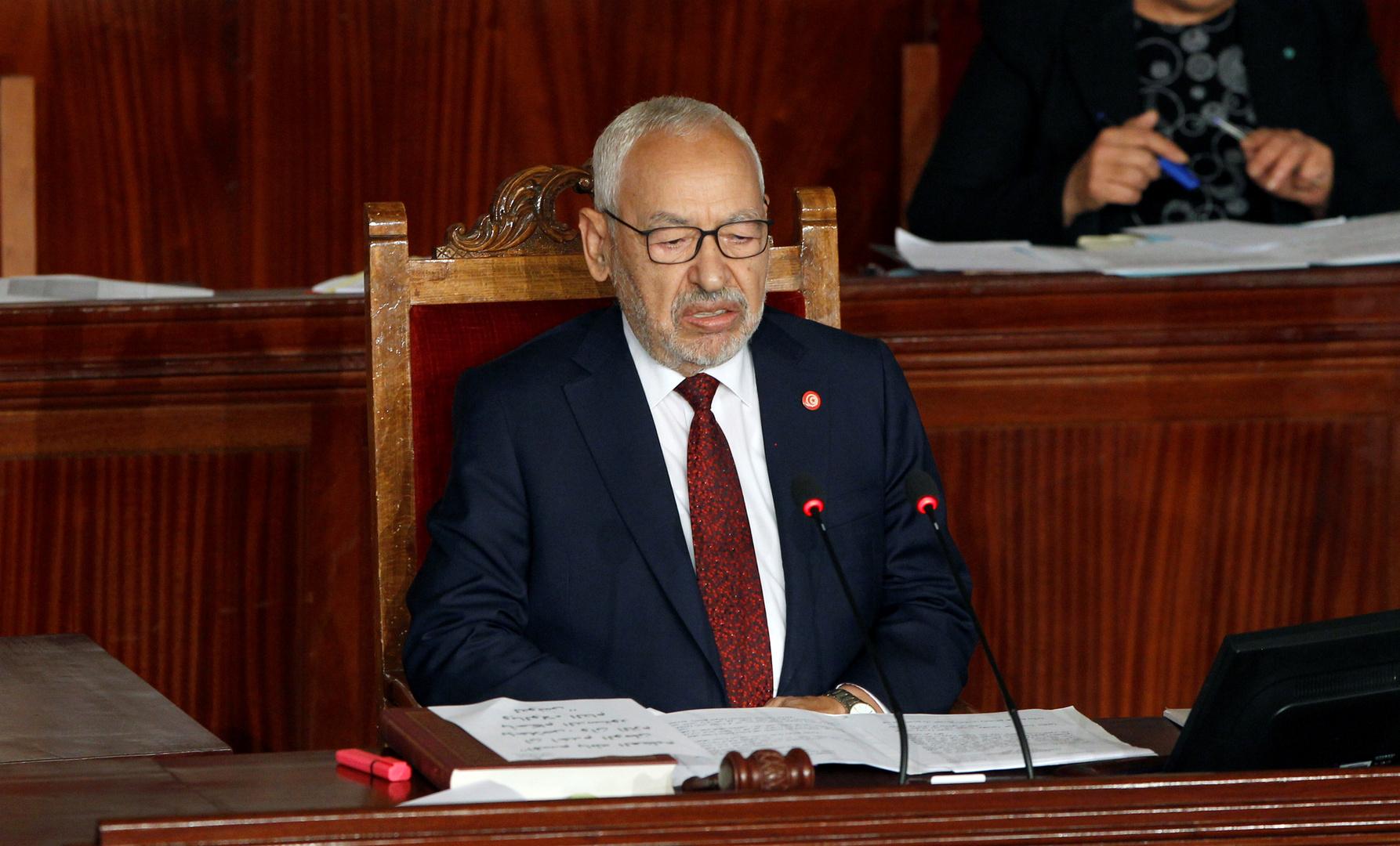راشد الغنوشي، رئيس البرلمان التونسي وزعيم حركة