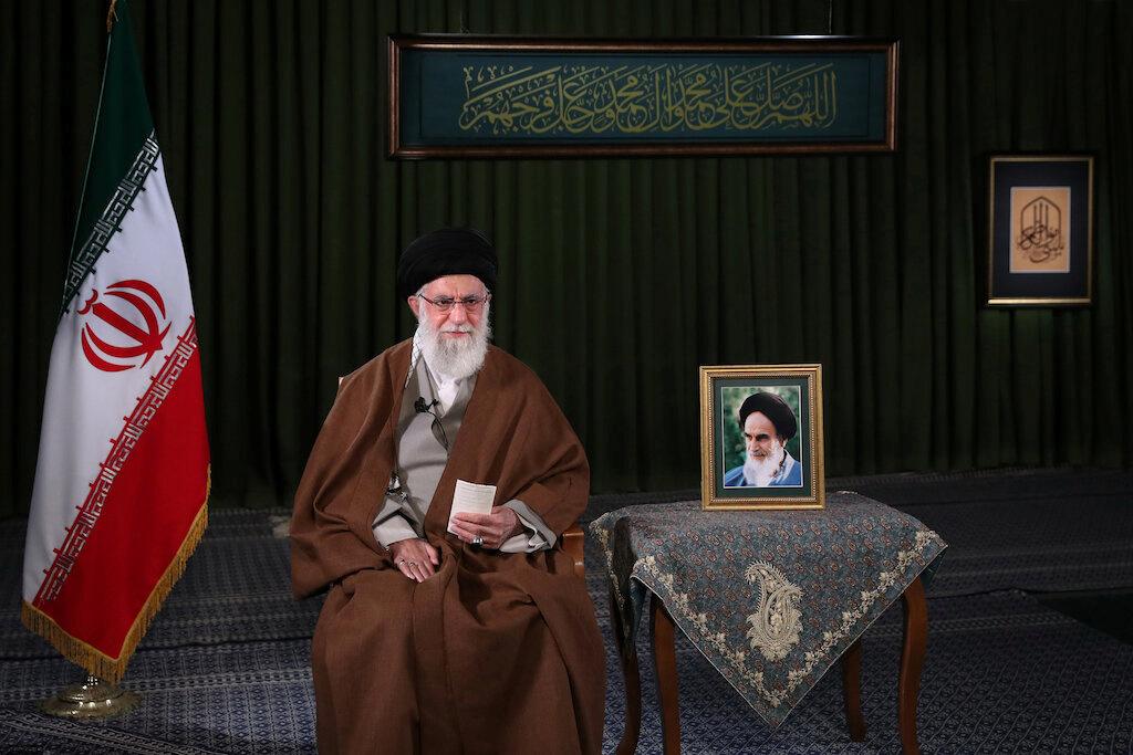 علي خامنئي المرشد الأعلى للثورة الإسلامية في إيران