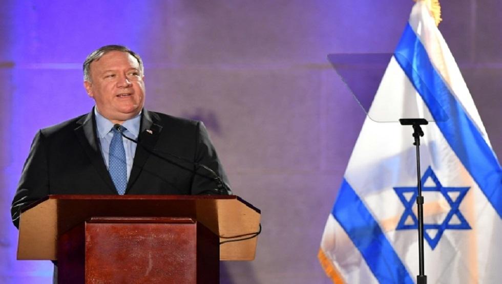 بومبيو يناقش في القدس خطط تمرير ضم إسرائيل لأراض فلسطينية في زمن كورونا!