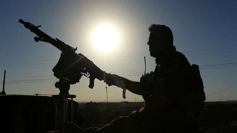 أحد عناصر البيشمركة الكردية في العراق - أرشيف